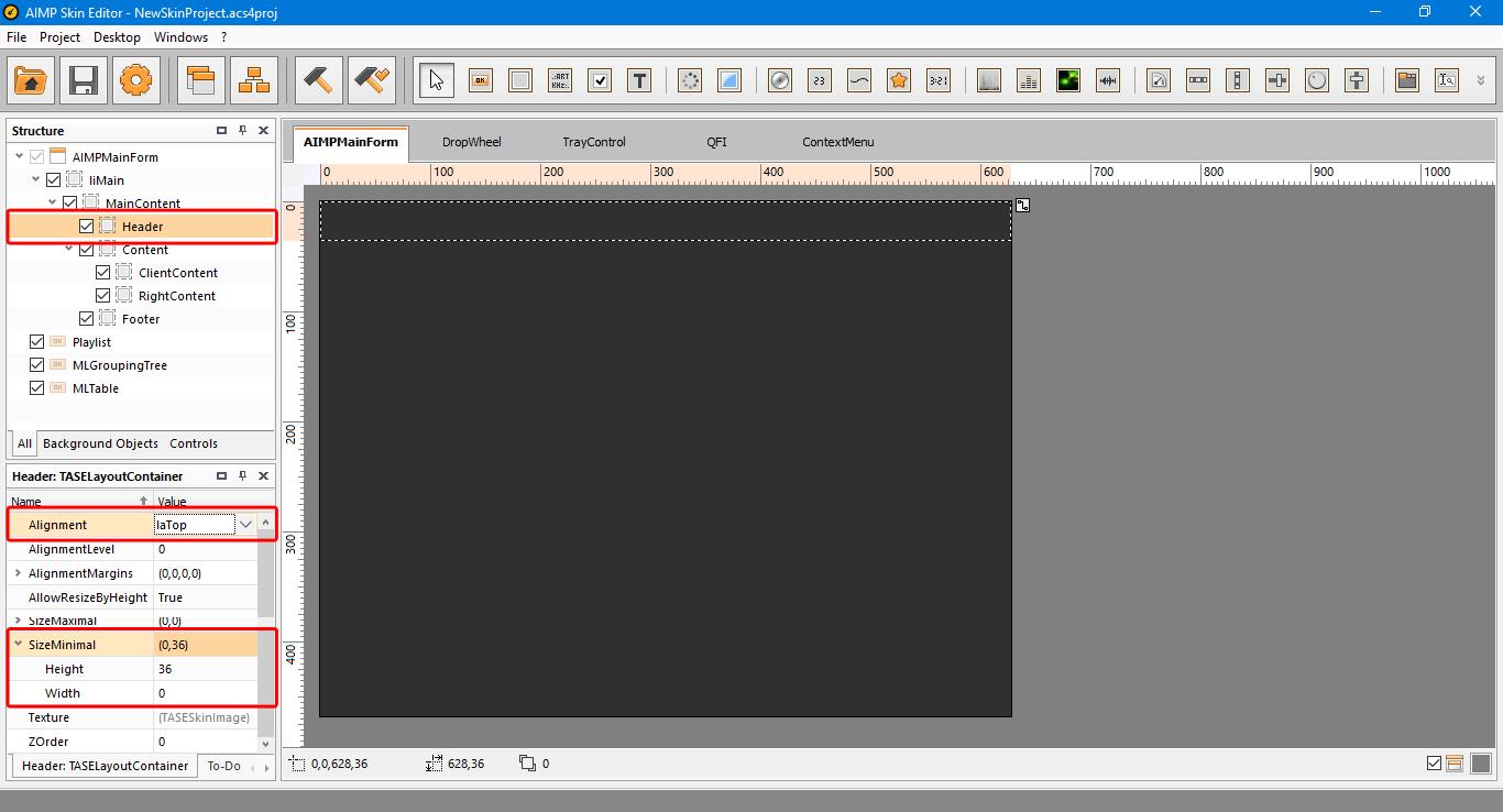 13 header settings Cara Membuat AIMP SKIN 'Sederhana' Sendiri Cara Membuat AIMP SKIN 'Sederhana' Sendiri 13 header settings