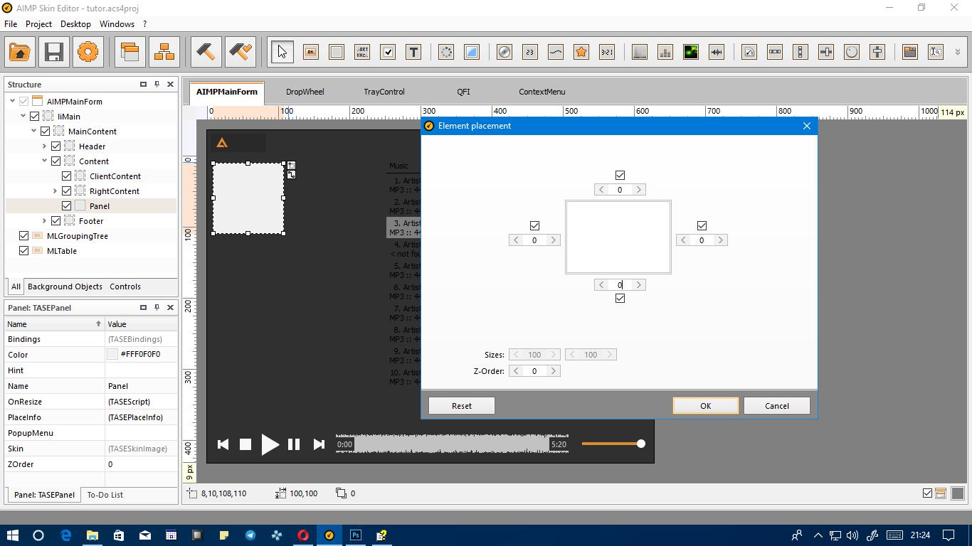 24 tambah panel.png Cara Membuat AIMP SKIN 'Sederhana' Sendiri Cara Membuat AIMP SKIN 'Sederhana' Sendiri 24 tambah panel