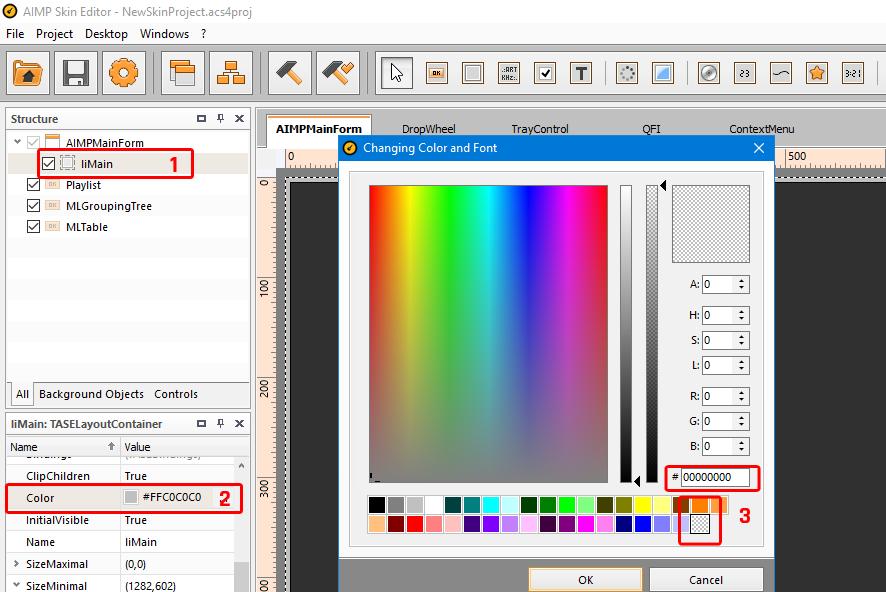 6 hapus warna.png Cara Membuat AIMP SKIN 'Sederhana' Sendiri Cara Membuat AIMP SKIN 'Sederhana' Sendiri 6 hapus warna