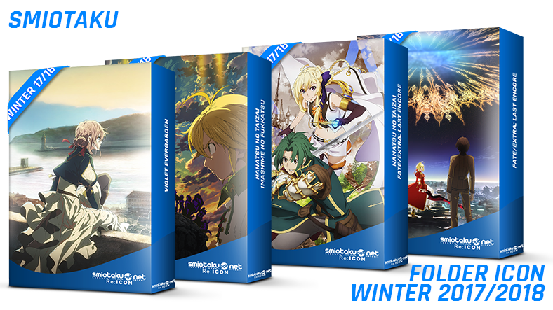 Folder Icon Anime Winter 2017-2018 Winter 2017/2018 Anime Folder Icon Version 1 Winter 2017/2018 Anime Folder Icon Version 1 folder icon anime winter 2017 2018
