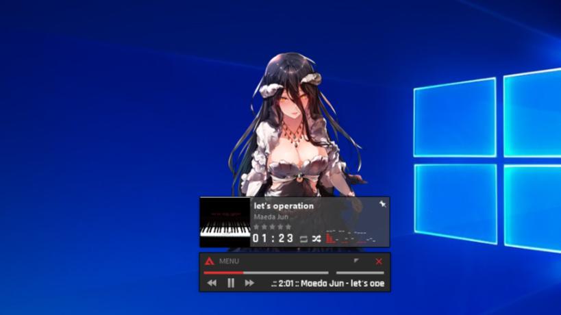 [smiotaku] Overlord [Albedo] 5 AIMP 4.50 Skin Overlord [Albedo] AIMP 4.50 Skin Overlord [Albedo] smiotaku overlord albedo 5